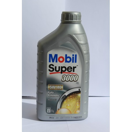 Mobil Super 3000 X1 5W-40 Bidon 1 Litre