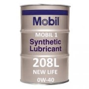 Mobil 1 New Life 0W-40 of 208L barrel