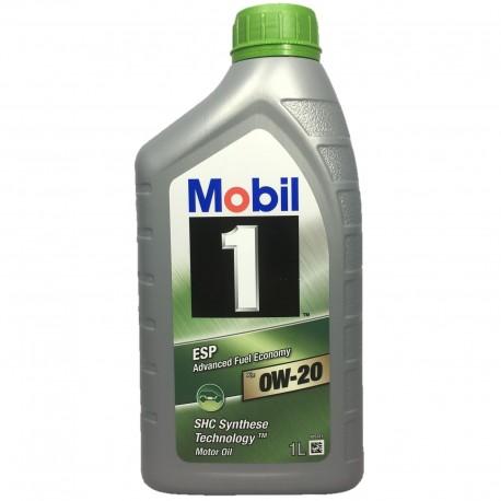 Mobil 1 ESP X2 0W-20 1L dose