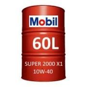Mobil Super 2000 X1 10W-40 60L barrel