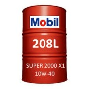 Mobil Super 2000 X1 10W-40 of 208L barrel
