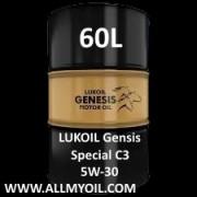 LUKOIL Genesis Special C3 5W-30 60L barrel