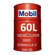 Mobil Super 3000 Formula V 5W-30 fût 60 Litres
