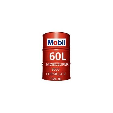Mobil Super 3000 Formula V 5W-30 60L barrel