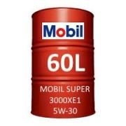 Mobil Super 3000 XE1 5W-30 60L barrel
