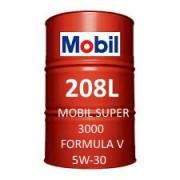 Mobil Super 3000 Formula V 5W-30 fût de 208 Litres