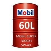 Mobil Super 3000 X1 5W-40 60L vat