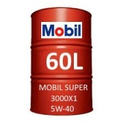 Mobil Super 3000 X1 5W-40 fût 60 Litres