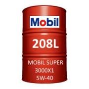 Mobil Super 3000 X1 5W-40 fût de 208 Litres
