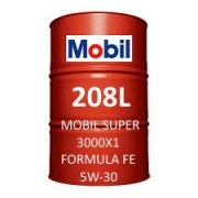 Mobil Super 3000 X1 Formula FE 5W-30 of 208L barrel