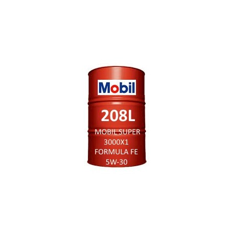 Mobil Super 3000 X1 Formula FE 5W-30 Fass 208L