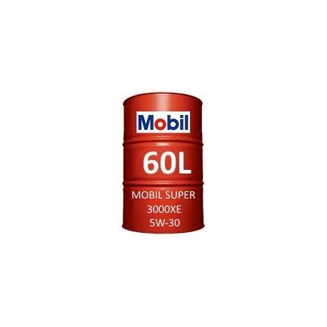 Mobil Super 3000 XE 5W-30 60L barrel