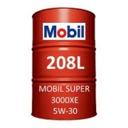 Mobil Super 3000 XE 5W-30 of 208L barrel