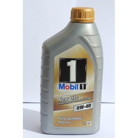 Mobil 1 New Life 0W-40 Bidon 1 Litre