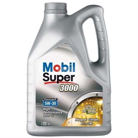 Mobil Super 3000 Formula P 5W-30 5L dose