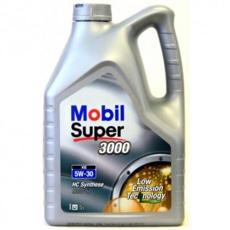Mobil Super 3000 XE 5W-30 5L dose