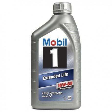 Mobil 1 Extended Life 10W-60 1L doos