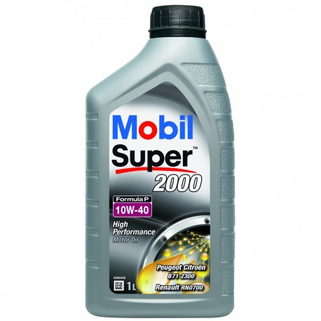 Mobil Super 2000 Formula P 10W-40 1L dose