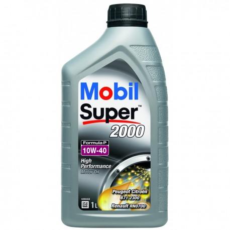 Mobil Super 2000 Formula P 10W-40 Bidon 1 Litre